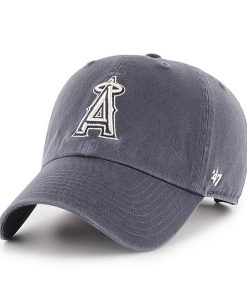 Los Angeles Angels 47 Brand Vintage Navy Clean Up Adjustable Hat