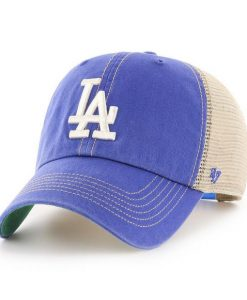 Los Angeles Dodgers 47 Brand Trawler Blue Clean Up Adjustable Hat