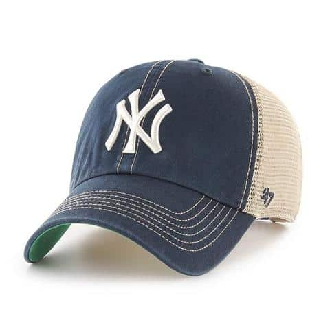 d0d532ba039 New York Yankees 47 Brand Trawler Navy Clean Up Adjustable Hat ...