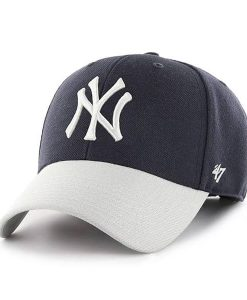0a5e9a2f7203a New York Yankees MVP Navy Two-Tone 47 Brand Adjustable Hat