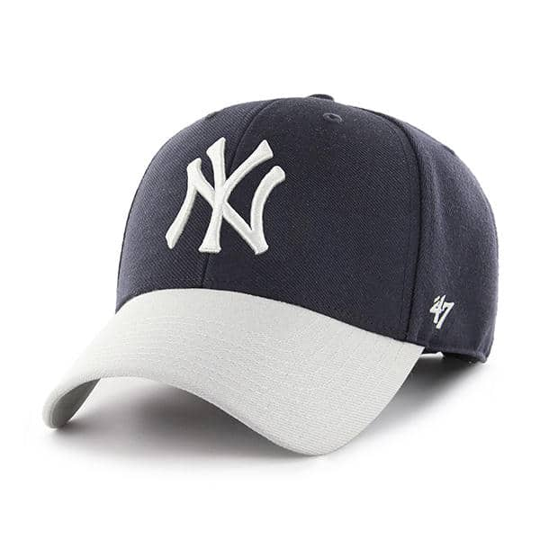 f8c6bd41a1676 New York Yankees MVP Navy Two-Tone 47 Brand Adjustable Hat - Detroit Game  Gear