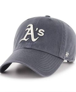 Oakland Athletics 47 Brand Vintage Navy Clean Up Adjustable Hat