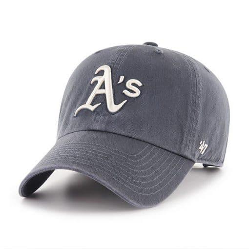 Oakland Athletics 47 Brand Vintage Navy Clean Up Adjustable Hat