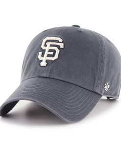 San Francisco Giants 47 Brand Vintage Navy Clean Up Adjustable Hat