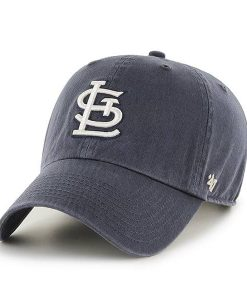 St. Louis Cardinals 47 Brand Vintage Navy Clean Up Adjustable Hat