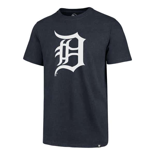 Detroit Tigers Men's 47 Brand Navy Club Tee