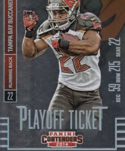 2014 Panini Contenders DOUG MARTIN PLAYOFF TICKET 105/199