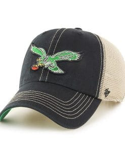 Philadelphia Eagles 47 Brand Trawler Classic Clean Up Adjustable Hat