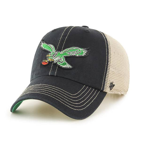 Philadelphia Eagles 47 Brand Trawler Classic Clean Up Adjustable Hat