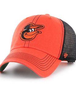 Baltimore Orioles 47 Brand Trawler Orange Clean Up Adjustable Hat