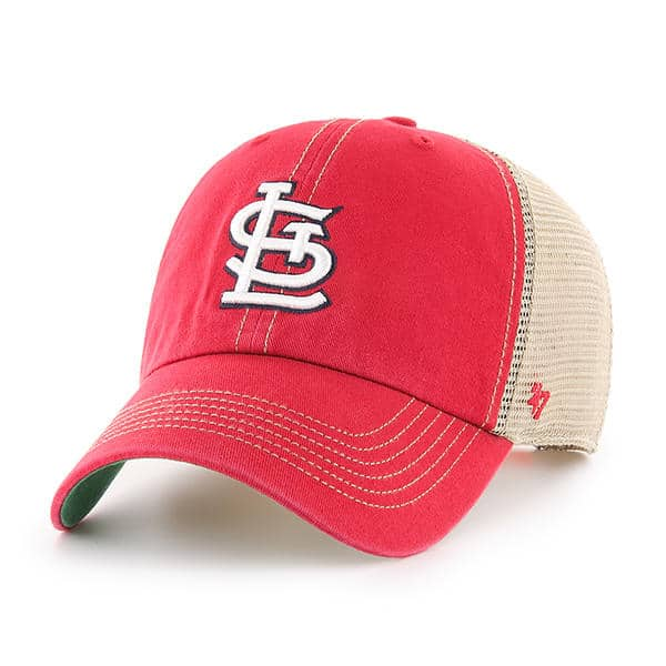 St. Louis Cardinals 47 Brand Trawler Red Clean Up Adjustable Hat