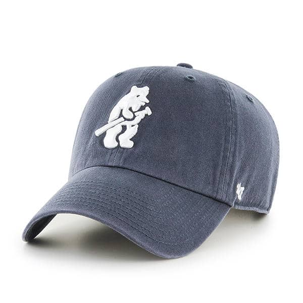 Chicago Cubs 47 Brand Vintage Cooperstown Clean Up Adjustable Hat