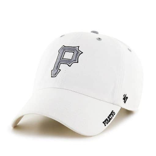 Pittsburgh Pirates 47 Brand White Ice Clean Up Adjustable Hat