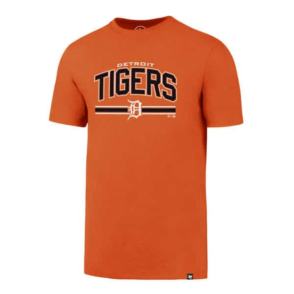 Detroit Tigers Men's 47 Brand Orange Rival T-Shirt Tee