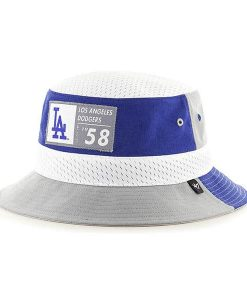 Los Angeles Dodgers 47 Brand Turnover Blue Bucket Hat