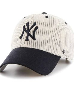New York Yankees 47 Brand Clean Up Pinstripe Adjustable Hat
