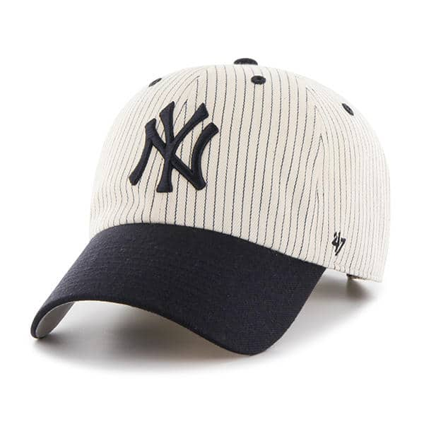 New York Yankees 47 Brand Clean Up Pinstripe Adjustable Hat
