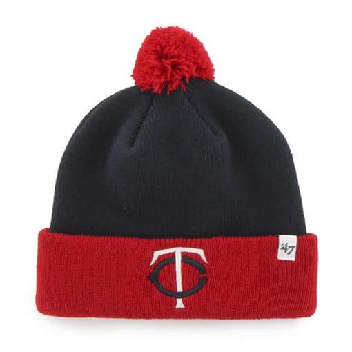 Minnesota Twins TODDLER 47 Brand Navy Bam Bam Cuff Knit Hat
