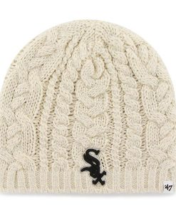 Chicago White Sox Women's 47 Brand Shawnee Knit Natural Hat