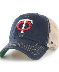 Minnesota Twins 47 Brand Trawler Navy Clean Up Adjustable Hat