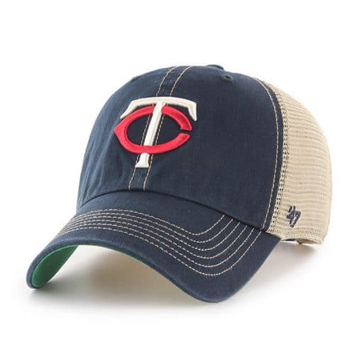 Minnesota Twins 47 Brand Trawler Navy Clean Up Adjustable Hat