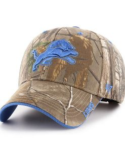 Detroit Lions 47 Brand MVP Realtree Frost Adjustable Hat