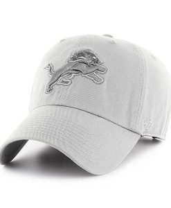 Detroit Lions 47 Brand Storm Gray Adjustable Hat