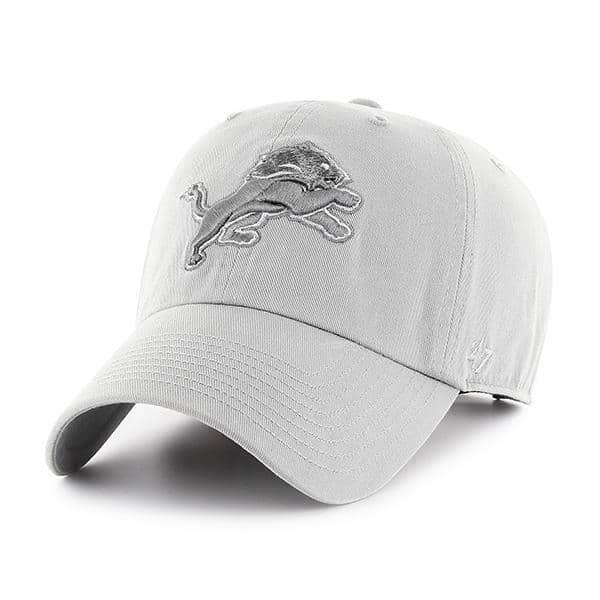 Detroit Lions 47 Brand Storm Gray Adjustable Hat