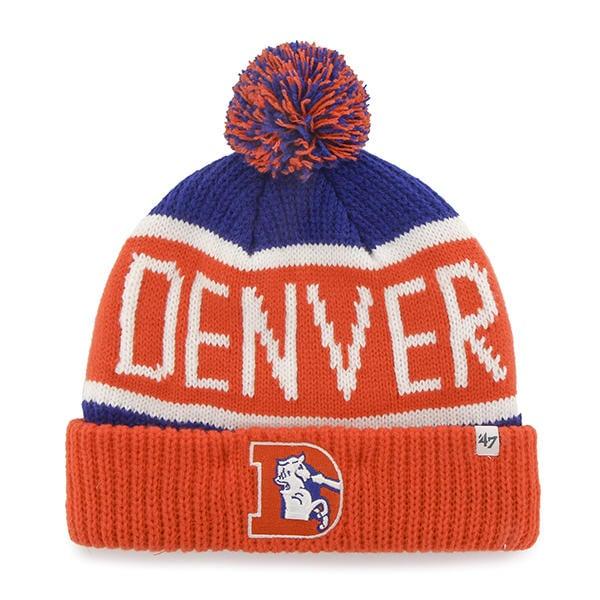 Denver Broncos 47 Brand Calgary Cuff Knit Hat