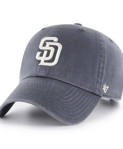 San Diego Padres 47 Brand Vintage Navy Clean Up Adjustable Hat
