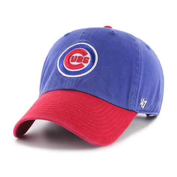 Chicago Cubs 47 Brand Two Tone Clean Up Adjustable Hat