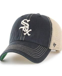Chicago White Sox 47 Brand Trawler Black Clean Up Adjustable Hat