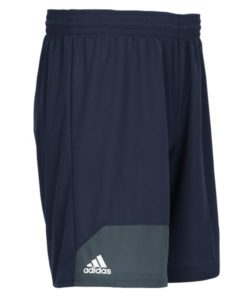 Men's Adidas Navy Climalite Spirit Pack Training Shorts