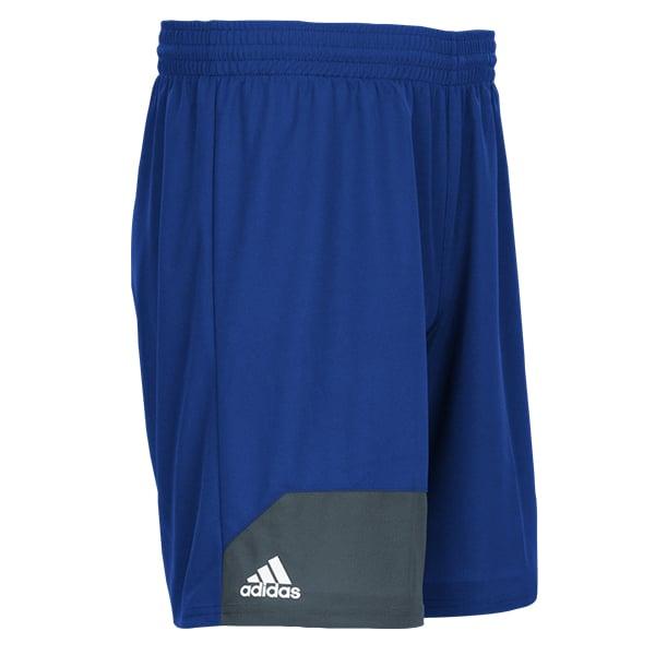 Men's Adidas Blue Climalite Spirit Pack Training Shorts