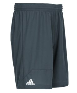 Men's Adidas Gray Climalite Spirit Pack Training Shorts