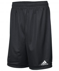 Men's Adidas Black Mesh Player Shorts