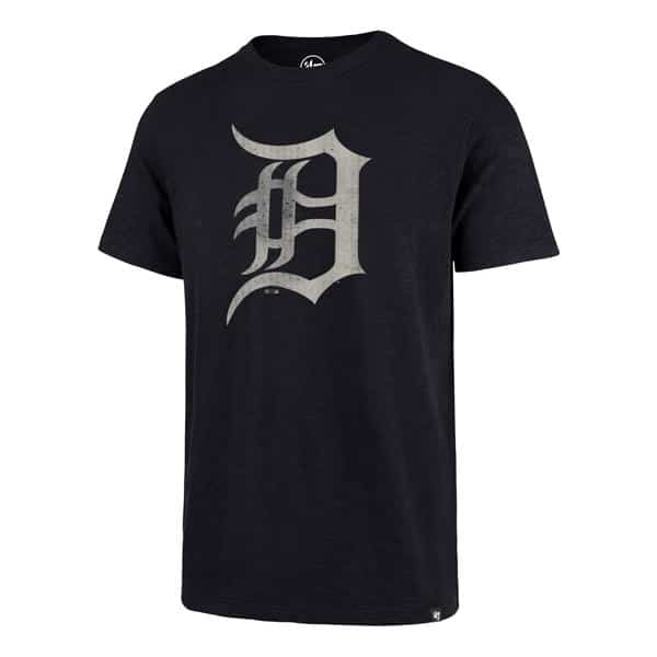 Detroit Tigers Men's 47 Brand Midnight Grit T-Shirt Tee