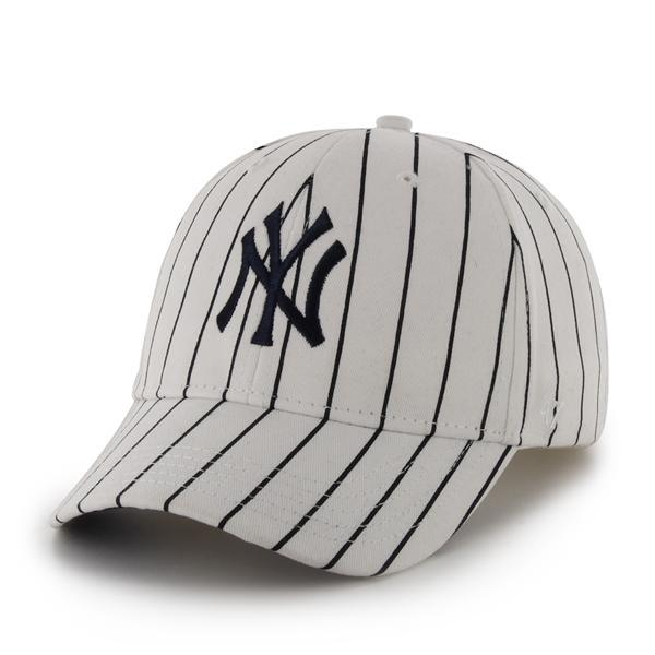 d1ba509296e35 New York Yankees 47 Brand Pinstripe White INFANT Hat - Detroit Game Gear