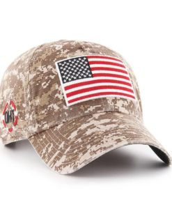 Operation Hat Trick Digital Camo Marpat 47 Brand Adjustable USA Flag Hat