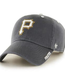Pittsburgh Pirates Ice Charcoal 47 Brand Adjustable Hat