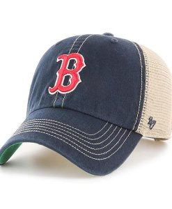 Boston Red Sox 47 Brand Trawler Navy Clean Up Adjustable Hat