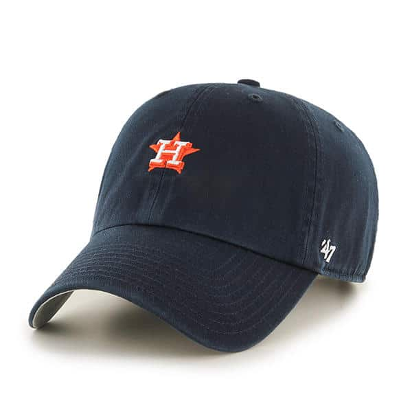 Houston Astros 47 Brand Abate Clean Up Navy Adjustable Hat