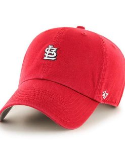 St. Louis Cardinals 47 Brand Abate Clean Up Red Adjustable Hat