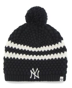 New York Yankees Women's 47 Brand Navy Kendall Beanie Knit Hat