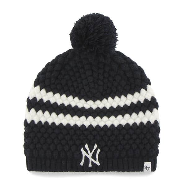 d28a13ae006 New York Yankees Women s 47 Brand Navy Kendall Beanie Knit Hat ...