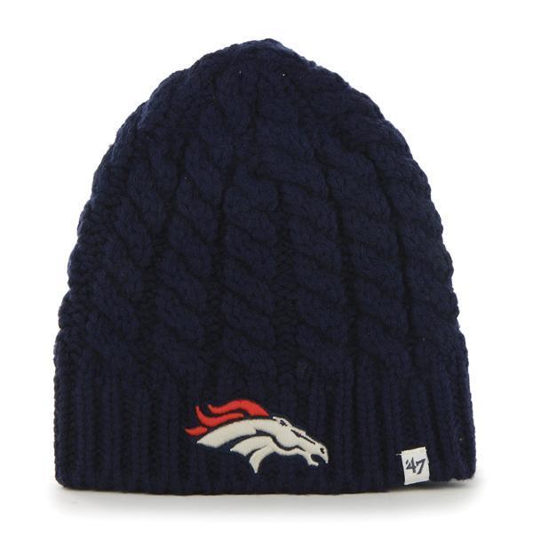 Denver Broncos Women's 47 Brand Newbury Beanie Navy Hat