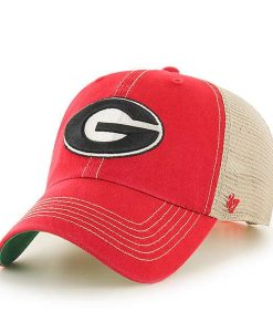 Georgia Bulldogs 47 Brand Trawler Red Clean Up Adjustable Hat