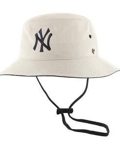 New York Yankees 47 Brand Natural Kirby Bucket Hat