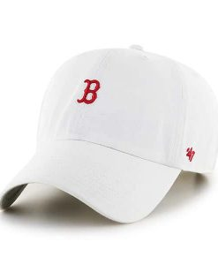 Boston Red Sox 47 Brand Abate Clean Up White Adjustable Hat