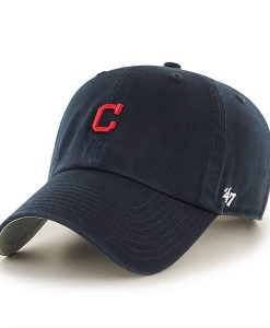 Cleveland Indians 47 Brand Abate Clean Up Navy Adjustable Hat